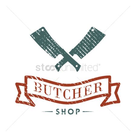 Fresh : Butcher shop label