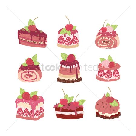 Confections : Cakes icons