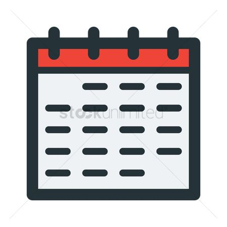 User interface : Calendar icon