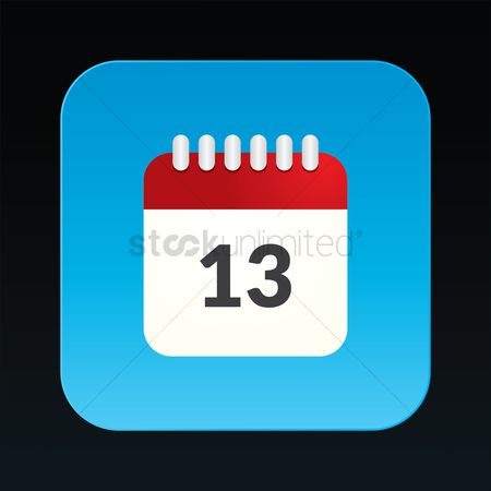 Notification : Calendar icon