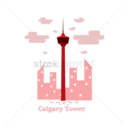 Skyscraper : Calgary tower