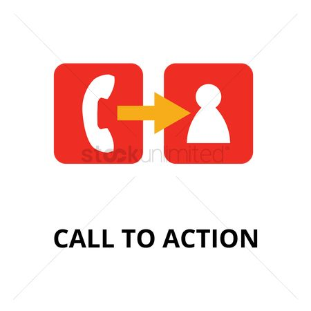 Calling : Call to action concept