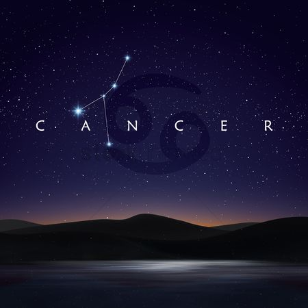 Horoscopes : Cancer constellation