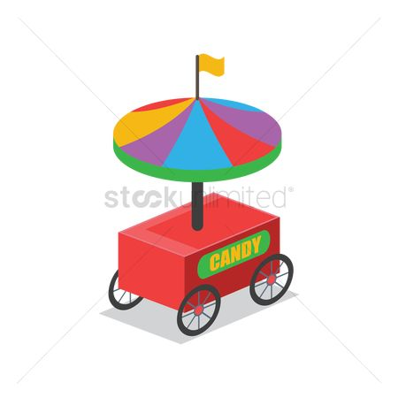 Food cart : Candy cart