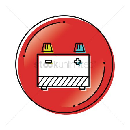 Free Car Battery Icon Stock Vectors Stockunlimited