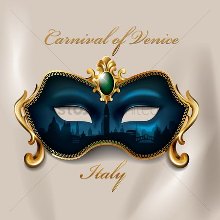 Decorations : Carnival of venice