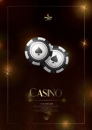 Poker chips : Casino design