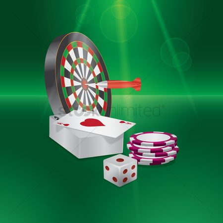 Poker chips : Casino games