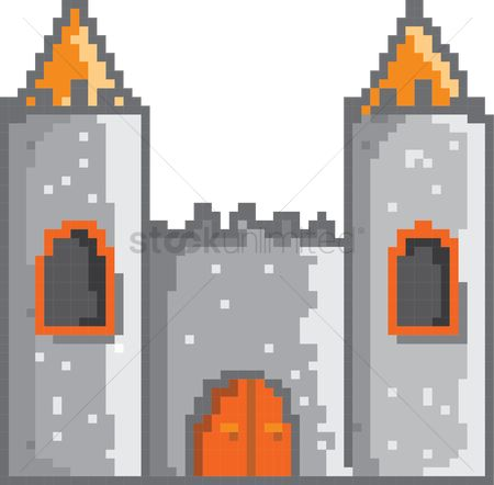 Royal : Castle pixel art