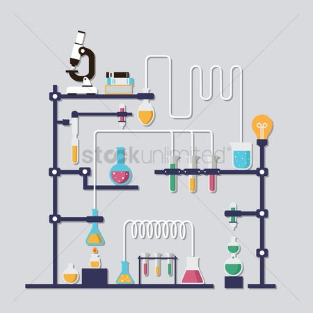 Researching : Chemistry laboratory
