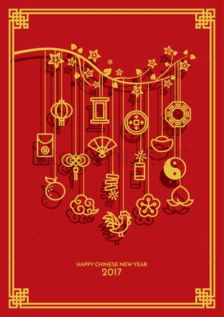 Horoscopes : Chinese new year greeting