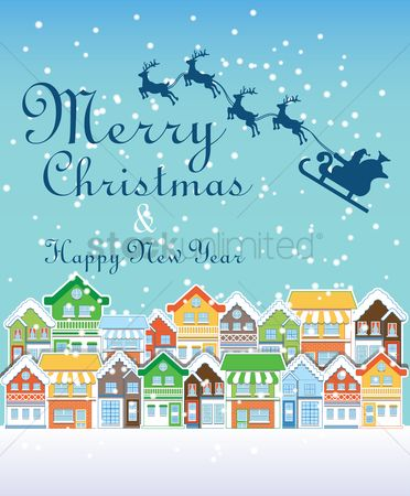Wallpaper : Christmas and new year greeting
