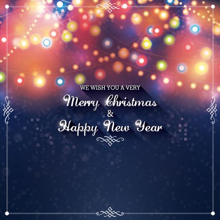 Season : Christmas and new year greetings