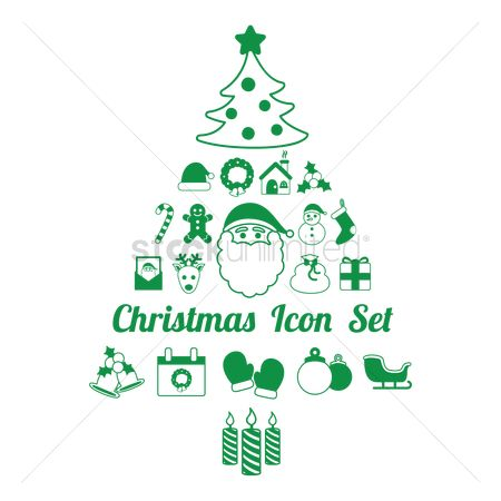 Sock : Christmas icons