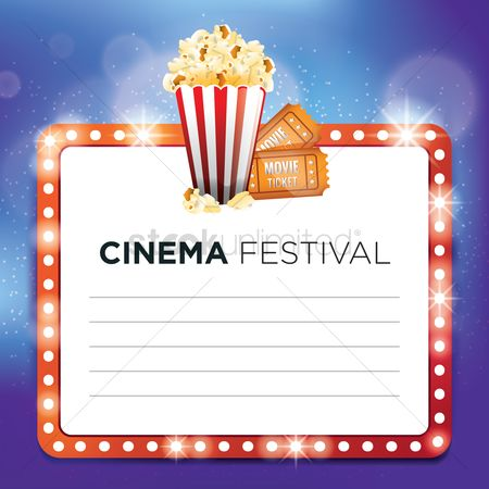 Stories : Cinema festival board design