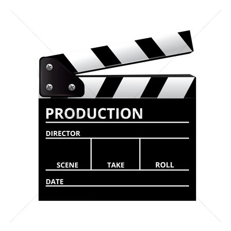 Production : Clap board