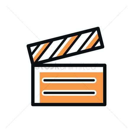 Production : Clapperboard icon