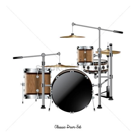 Drums : Classic drum set