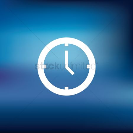 Notification : Clock icon