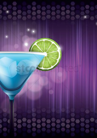 Pub : Cocktail party background design