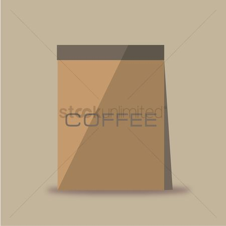 Background : Coffee bag