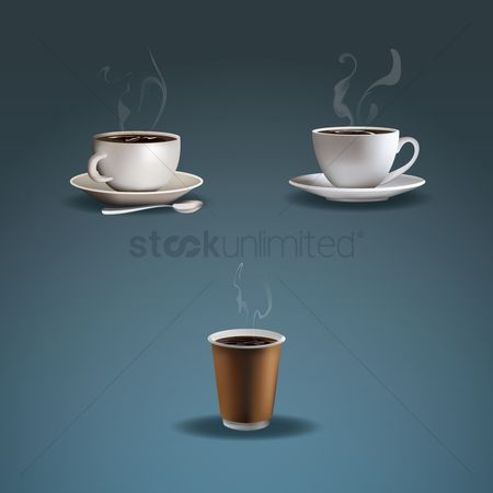 Coffee cups : Coffee cups