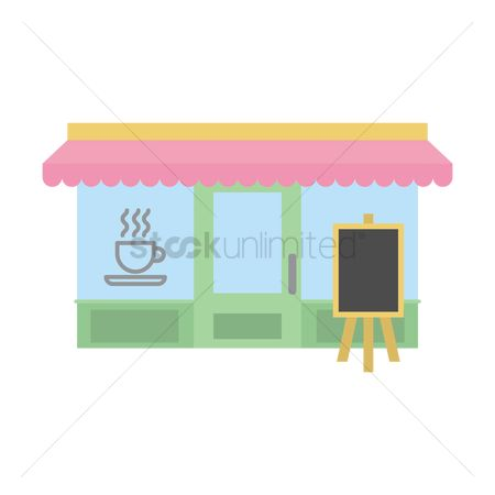 Awning : Coffee shop