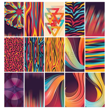 Wallpaper : Collection of abstract design