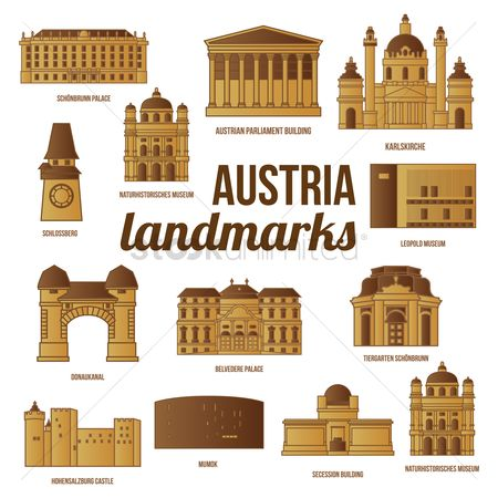 Museums : Collection of austria landmarks