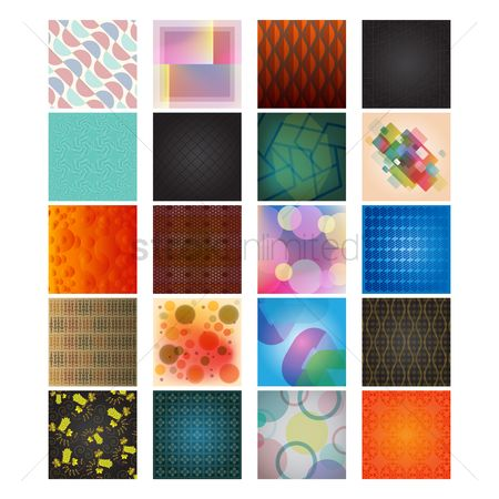 Grids : Collection of backgrounds