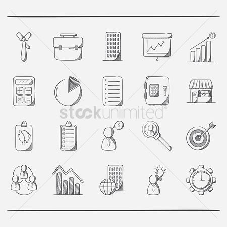 Store : Collection of business icons