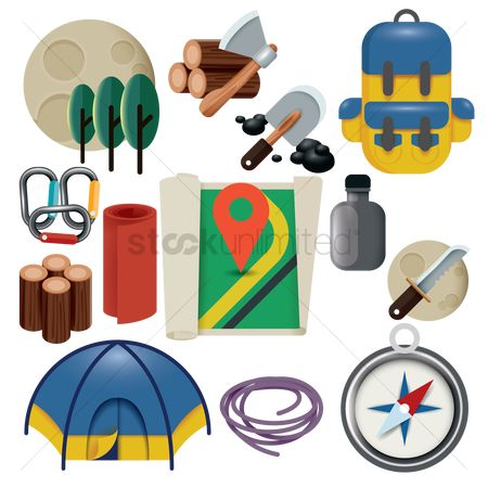Logs : Collection of camping related things