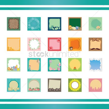 Palette : Collection of cards