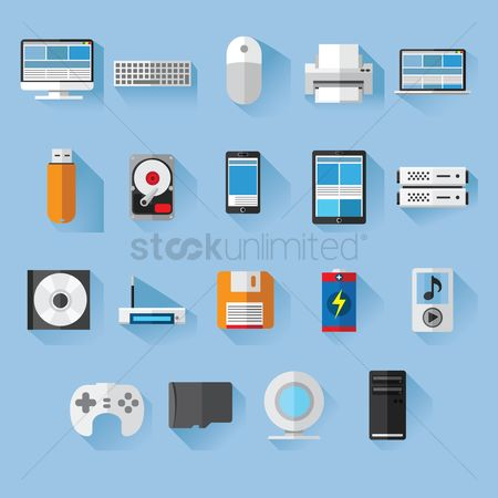 Smart : Collection of computer icons