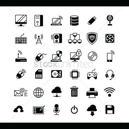 Wifi : Collection of computer icons