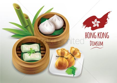 Plates : Collection of dim sum
