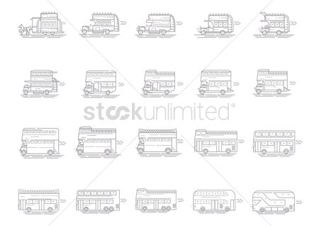 Tram : Collection of double-decker bus