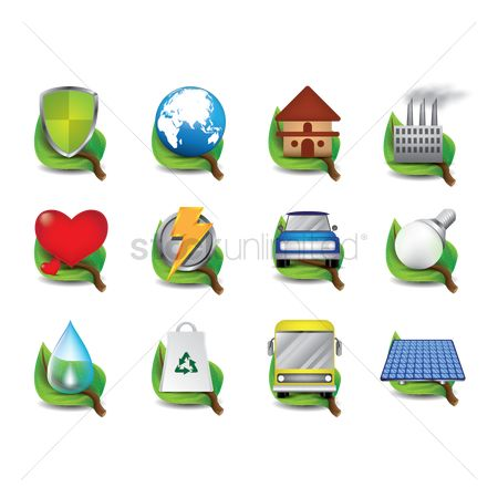 Heart : Collection of ecological icons