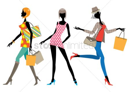 Handbags : Collection of fashionable women