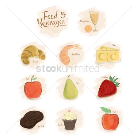 Confections : Collection of food and beverages