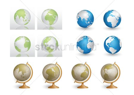 Clears : Collection of globes