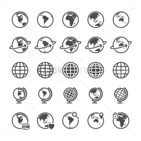 Communication : Collection of globes