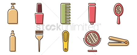 Cosmetic : Collection of grooming items
