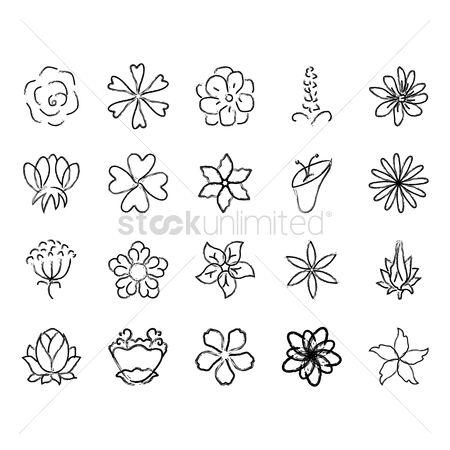 Free lotus flower outline stock vectors stockunlimited 1633203 lotus flower outline collection of hand drawn flowers mightylinksfo Gallery