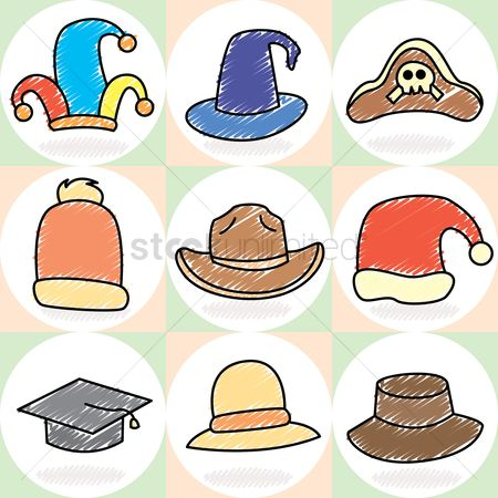 Cowboys : Collection of hats