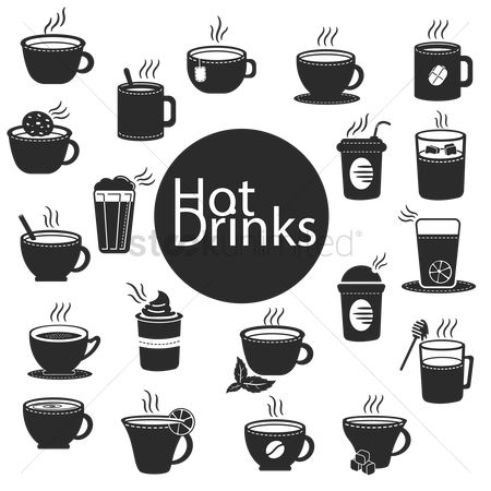 Drinking : Collection of hot drinks
