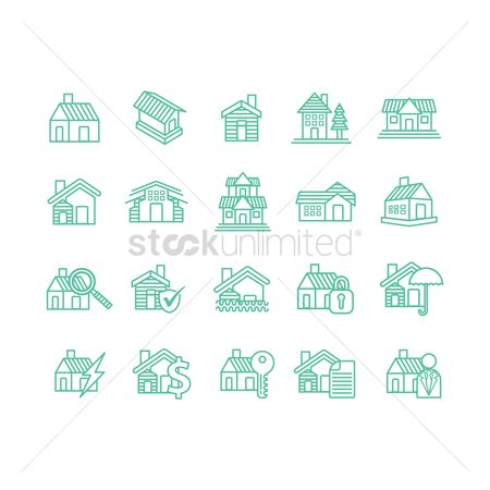 Umbrella : Collection of houses