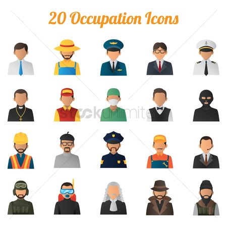 Priest : Collection of job icons