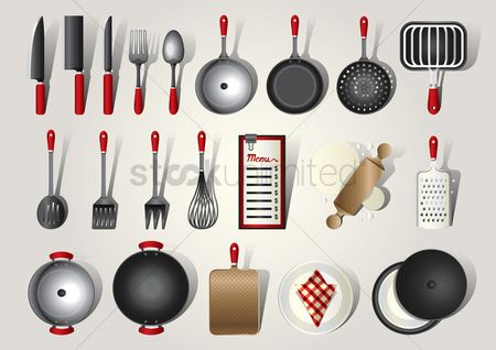 Roller : Collection of kitchenware