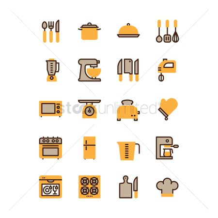 Appliances : Collection of kitchenware